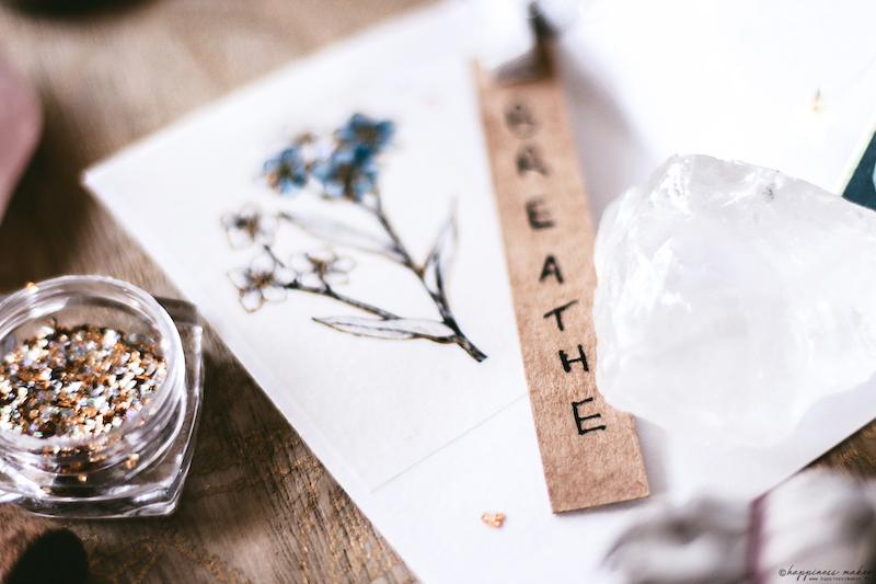 DIY carnet parfumé