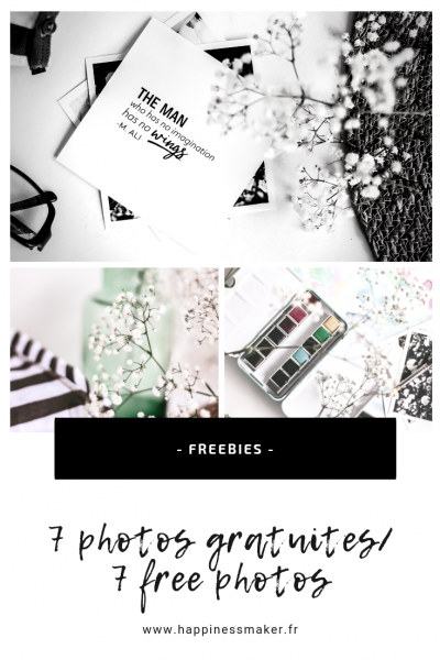 Freebies // 7 photos gratuites : botanique, aquarelle et minimalisme