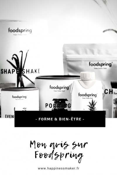 Shape Shake, porridge, crunchy fruits : J'ai testé Foodspring !