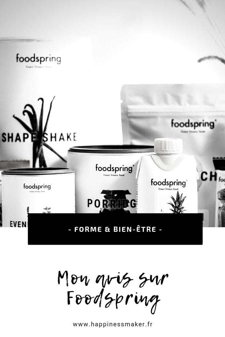 avis sur les produits foodspring