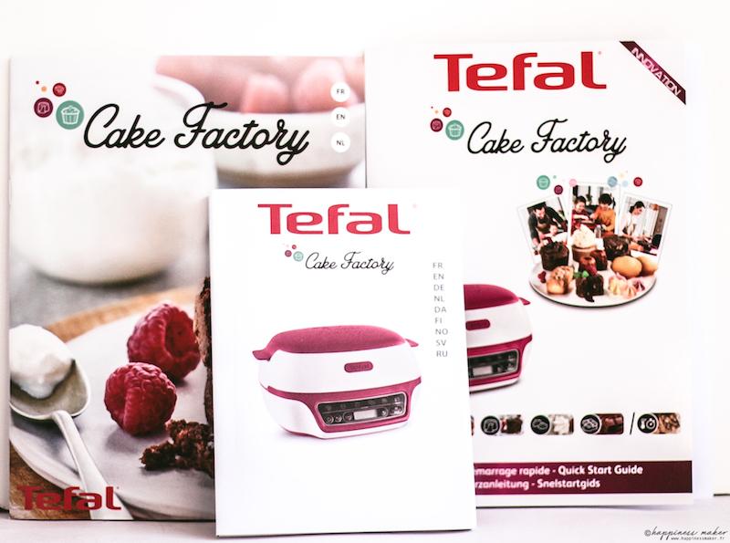 cake factory de tefal notice