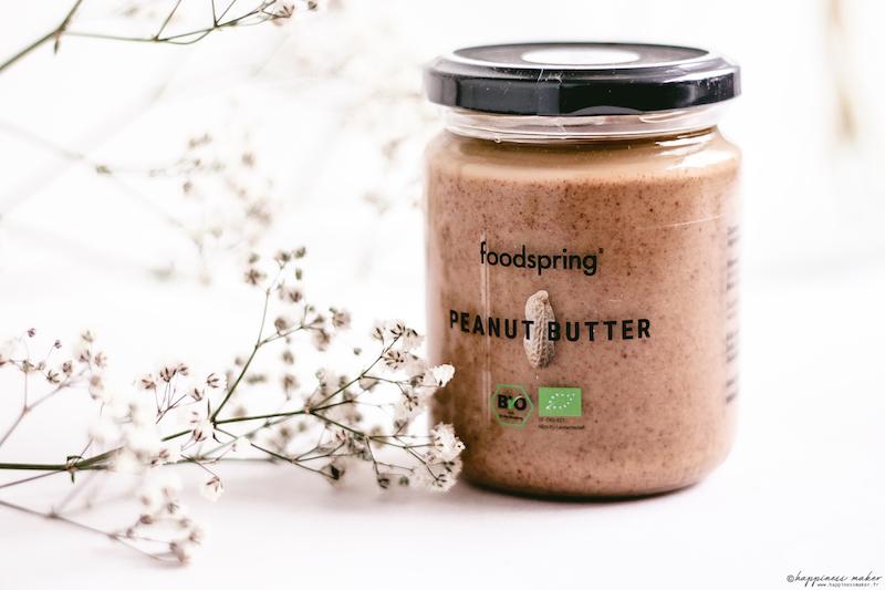 foodspring avis produits beurre de cacahuètes