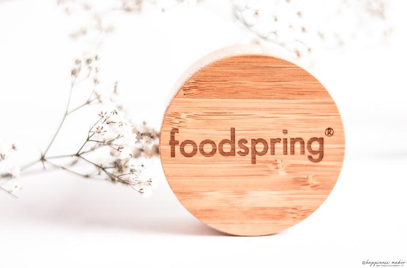 foodspring avis produits bouteille infuseur