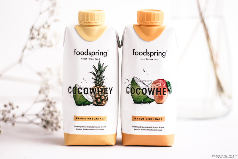 foodspring avis produits cocowhey