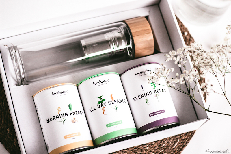 foodspring avis produits coffret thés et infusions