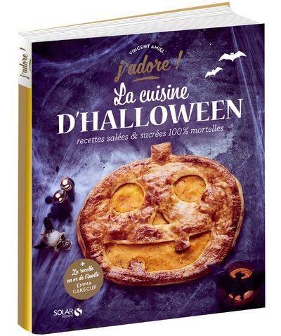 livres de recettes la cuisine d'halloween solar