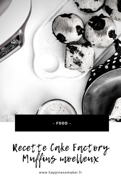 recette cake factory muffins moelleux myrtilles mascarpone