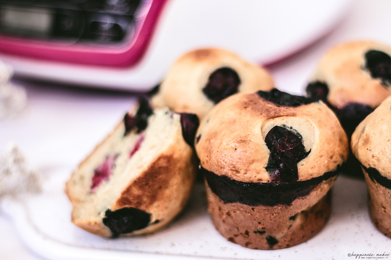 recette cake factory muffins moelleux peu sucres