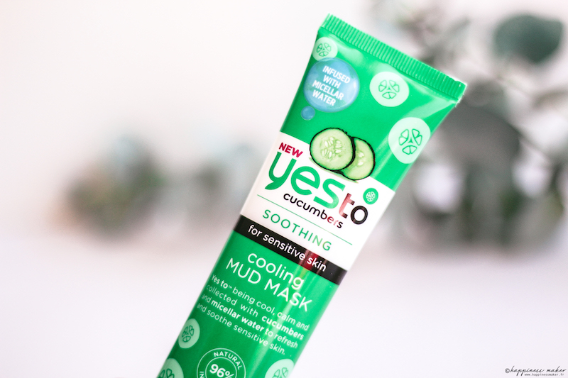 yes to gamme concombre masque avis