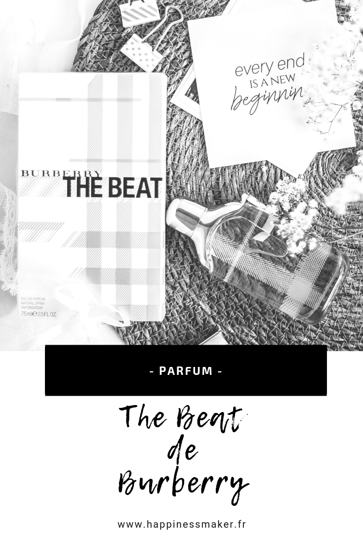 The beat burberry avis parfum