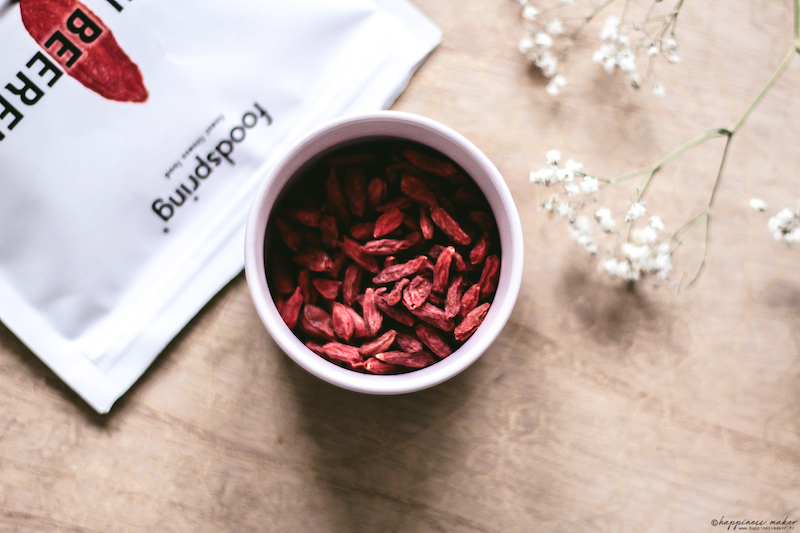 foodspring avis baies de goji bio