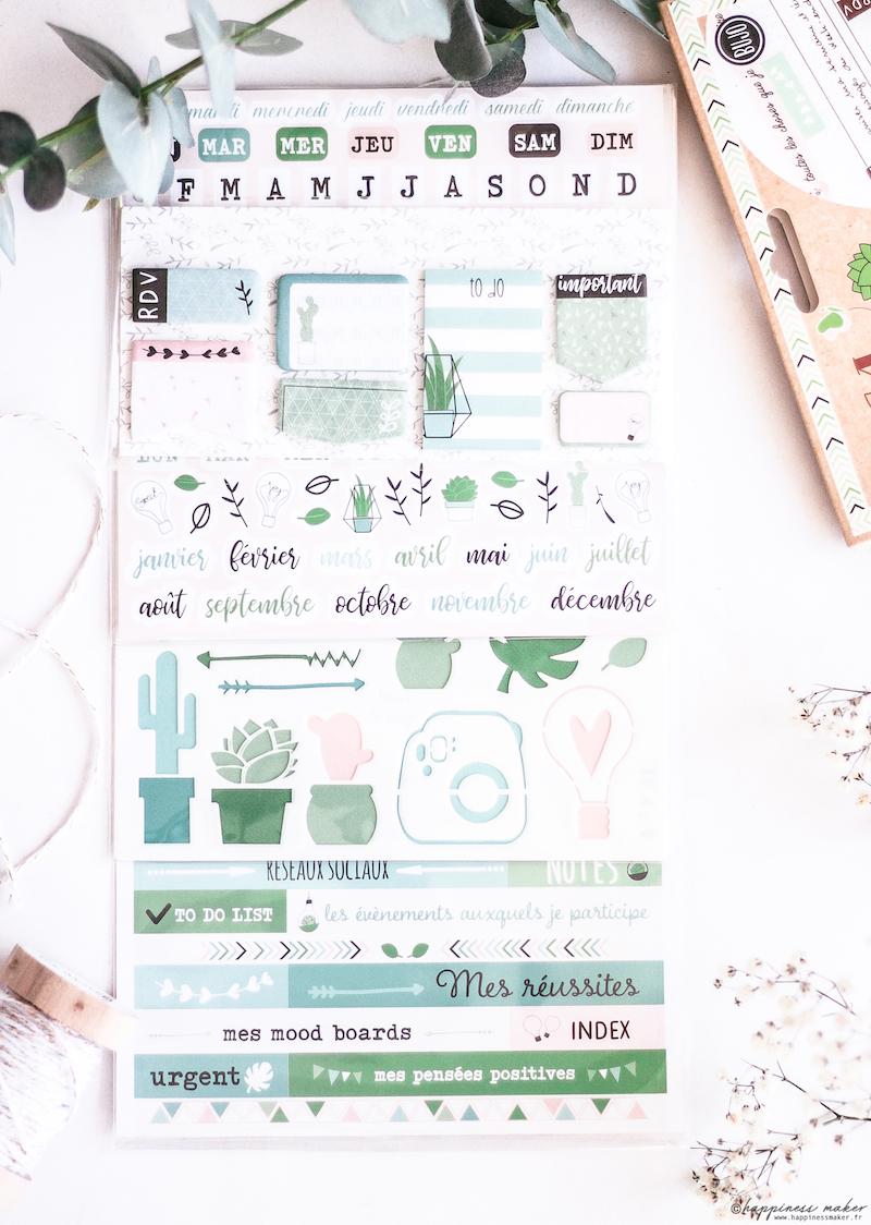 kit daily journal mes projets au quotidien toga