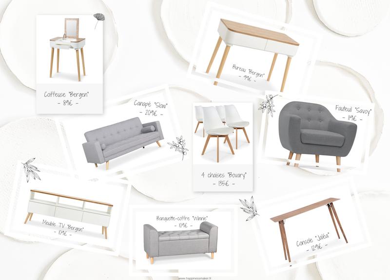 meubles tendance scandinaves déco douce et épurée