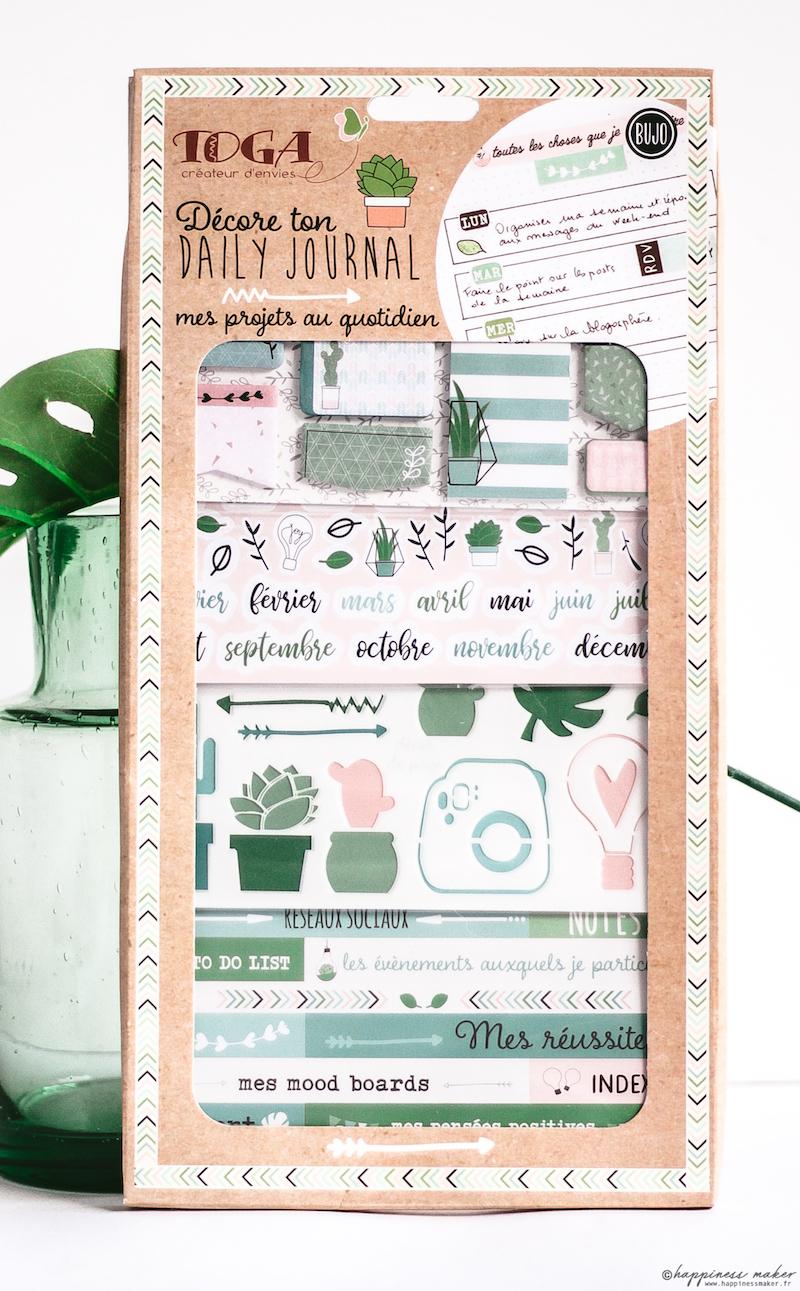 nouveaute toga enjoy the little things kit bullet journal