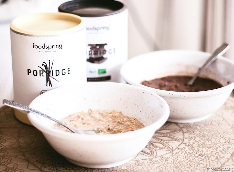 porridges foodsrping vanille chocolat avis