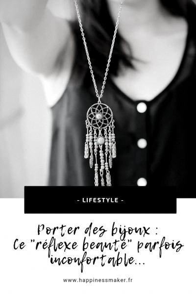 porter des bijoux féminité