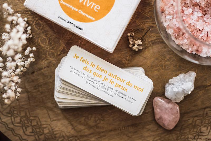 la petite boîte pour cultiver la joie de vivre cartes