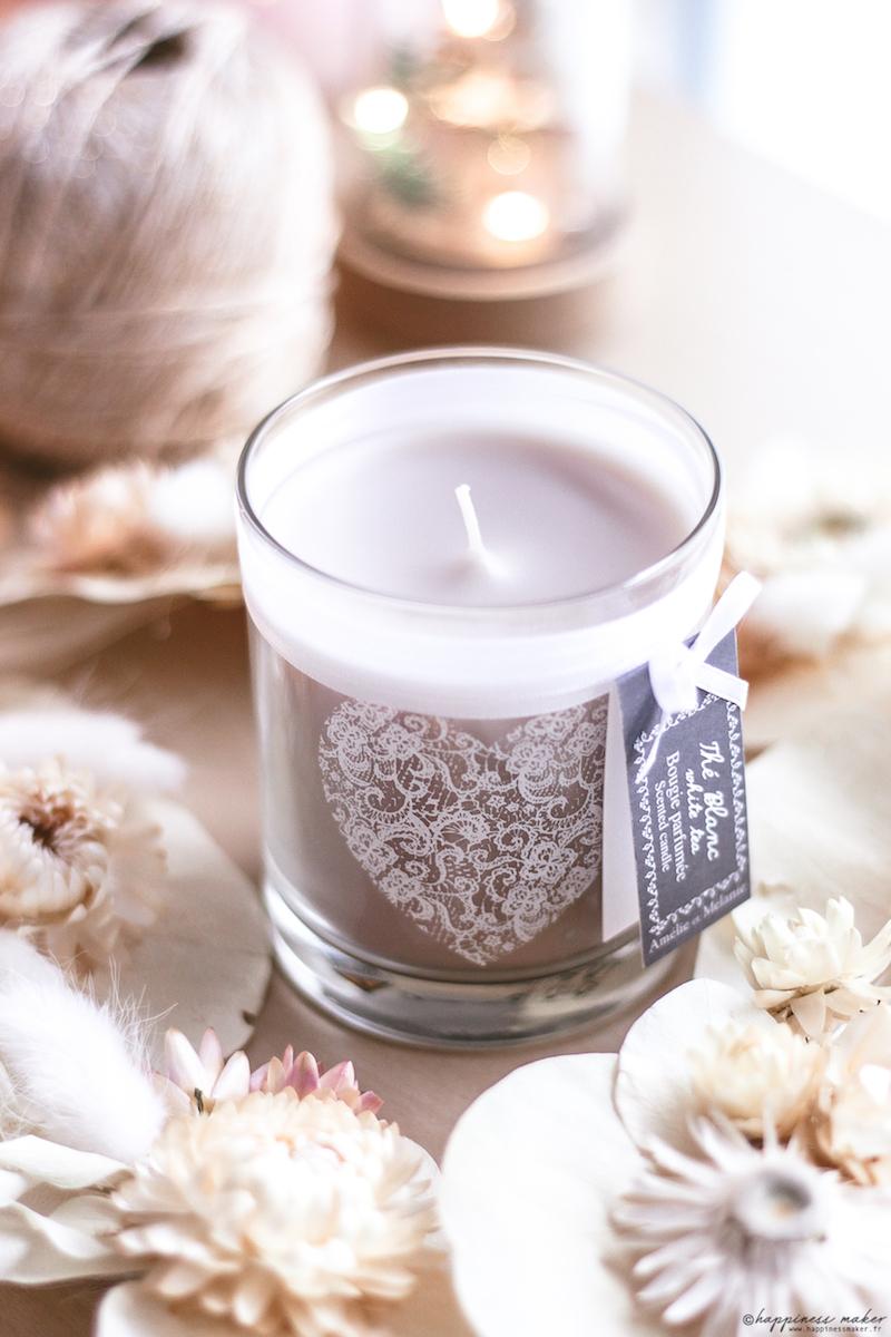 lothantique bougie thé blanc