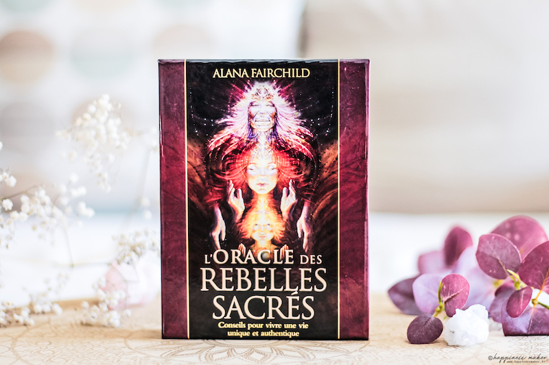 cartes l'oracle des rebelles sacrés contenu coffret