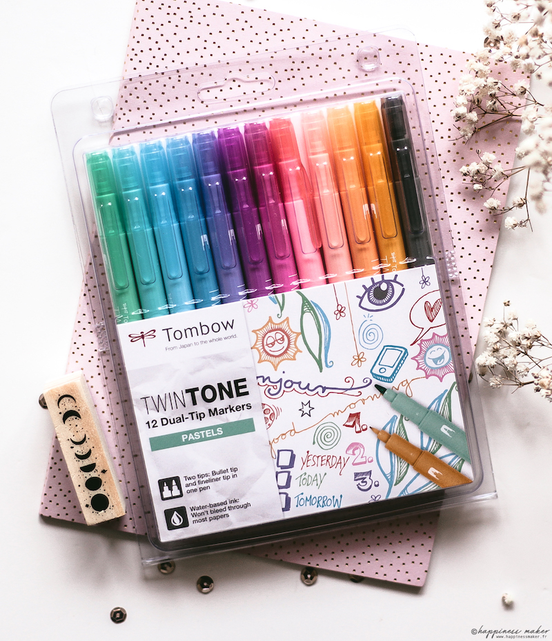 twintones pastel tombow