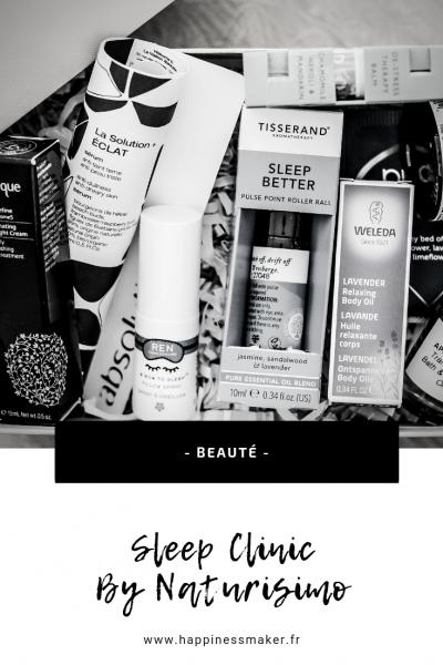 Sleep clinic box sommeil par naturisimo