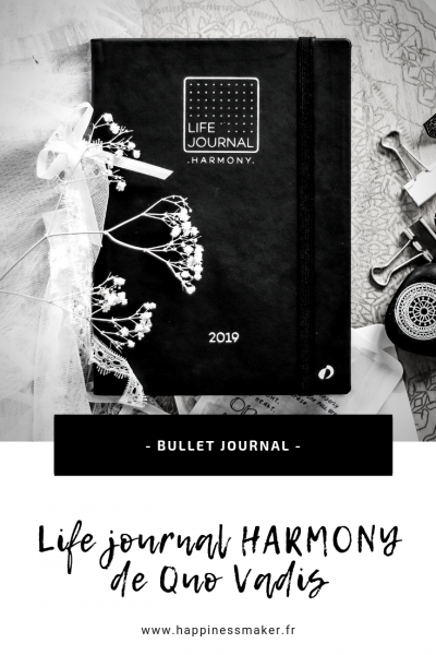 life journal harmony quo vadis bullet journal prêt a l'emploi