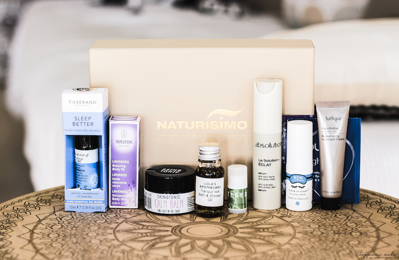 naturisimo box beaute sleep clinic