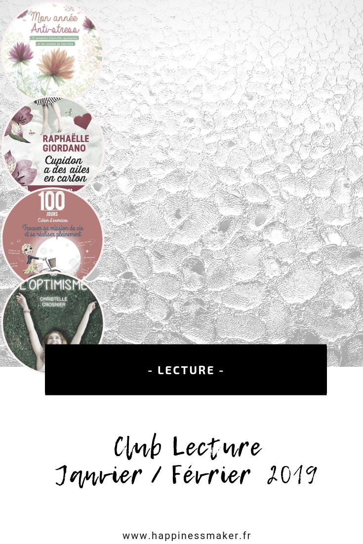 club lecture janvier fevrier 2019