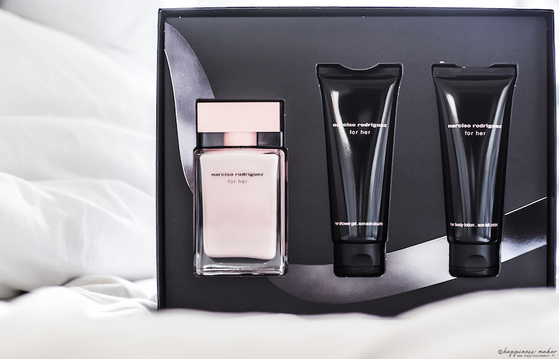 coffret for her narciso rodriguez parfum