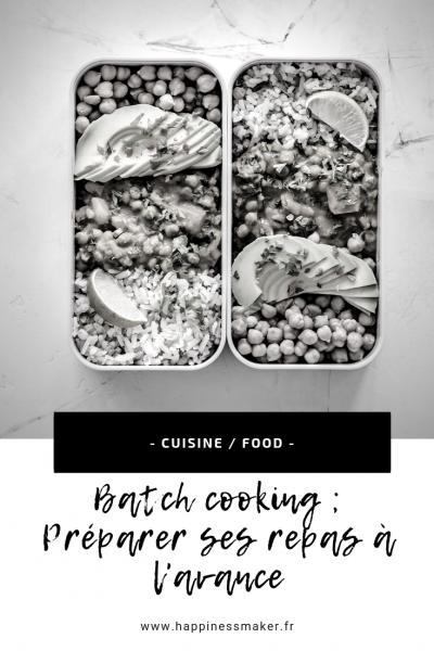 livres batch cooking préparer repas à l'avance