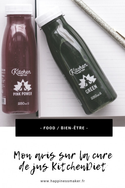 cure de jus détox kitchendiet test et avis