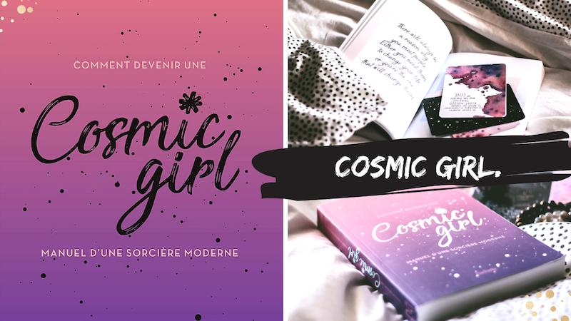 cosmic girl sorcière moderne interieur du livre