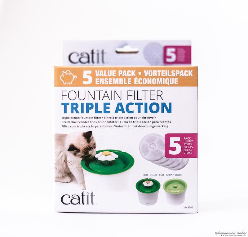 filtres de rechange pour fontaine a eau chat catit