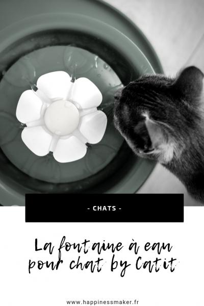 fontaine à eau pour chat avis