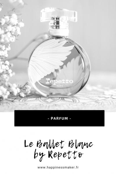 le ballet blanc repetto avis parfum