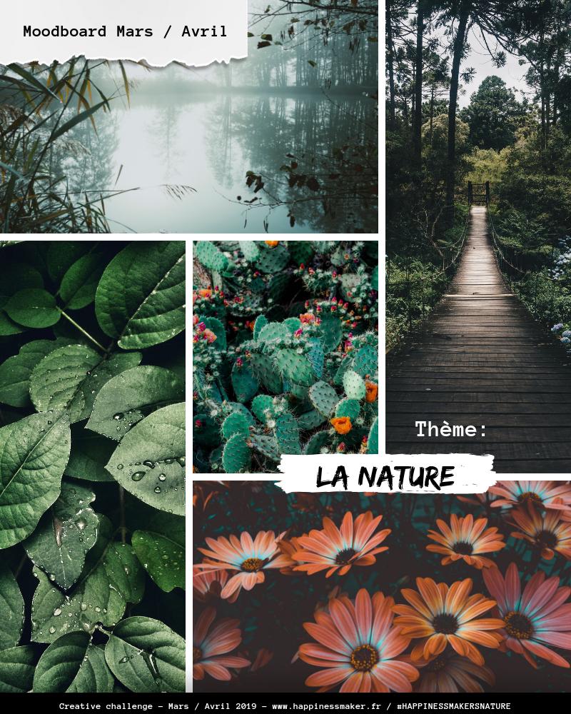 moodboard nature creative challenge