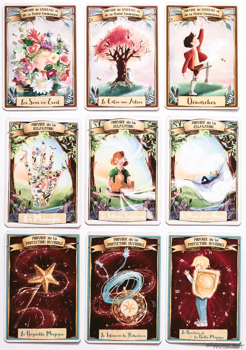 petit grimoire aux grands pouvoirs oracle enfants cartes