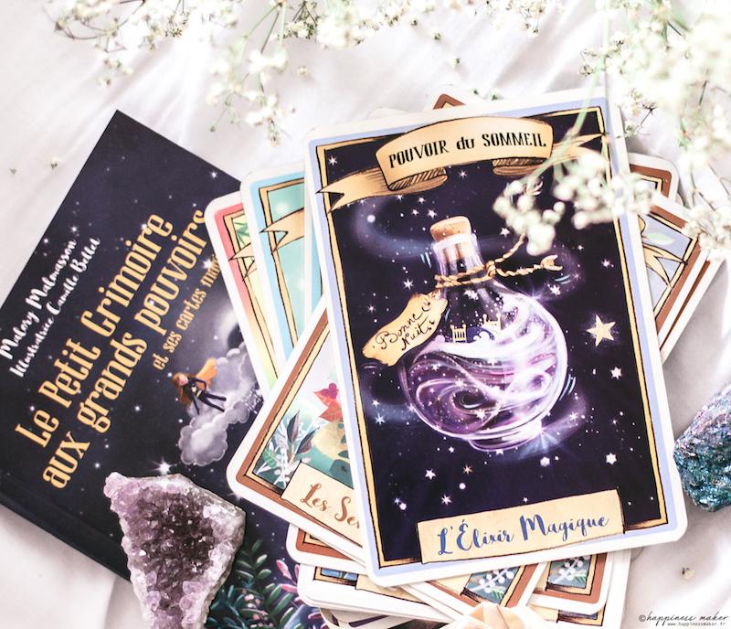 petit grimoire aux grands pouvoirs et 43 cartes magiques pour enfants