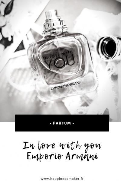 in love with you parfum emporio armani avis