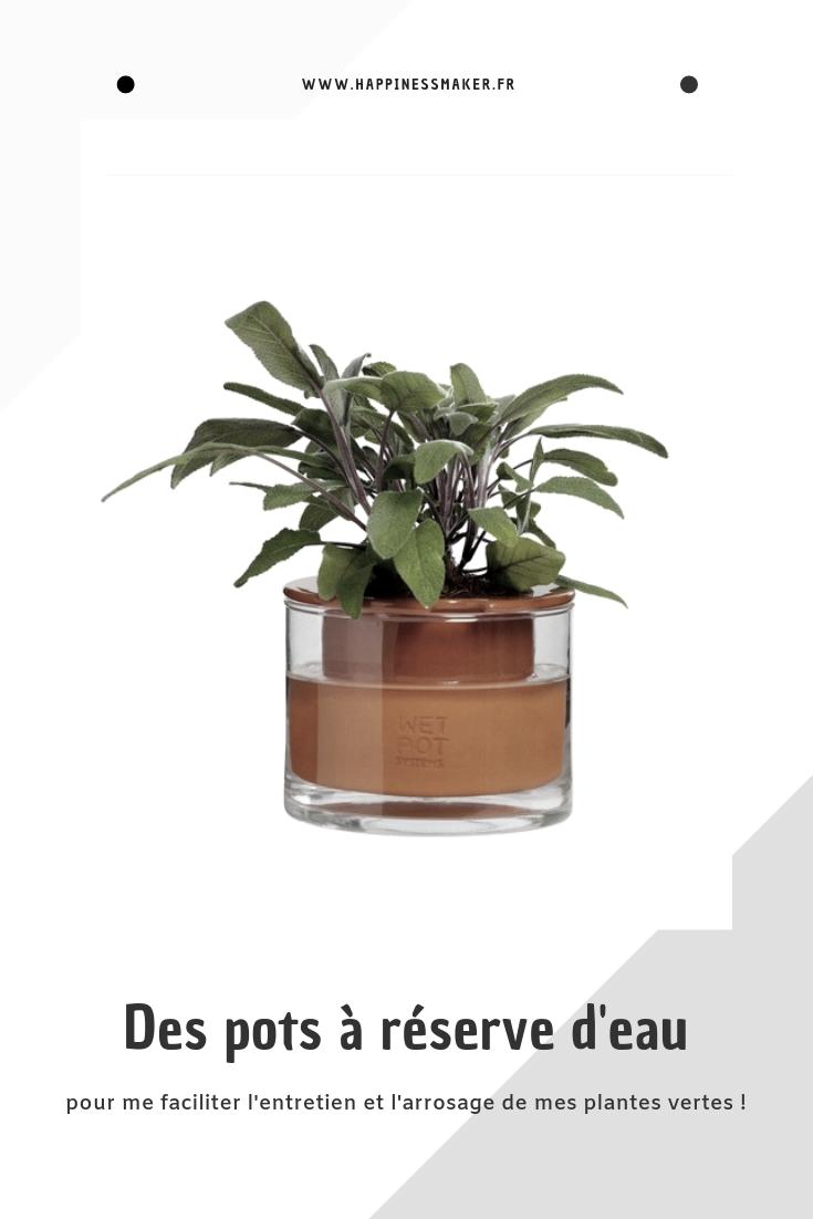 Arrosage Pour Plantes En Pot 4 marques de pots à réserve d'eau pour plantes vertes