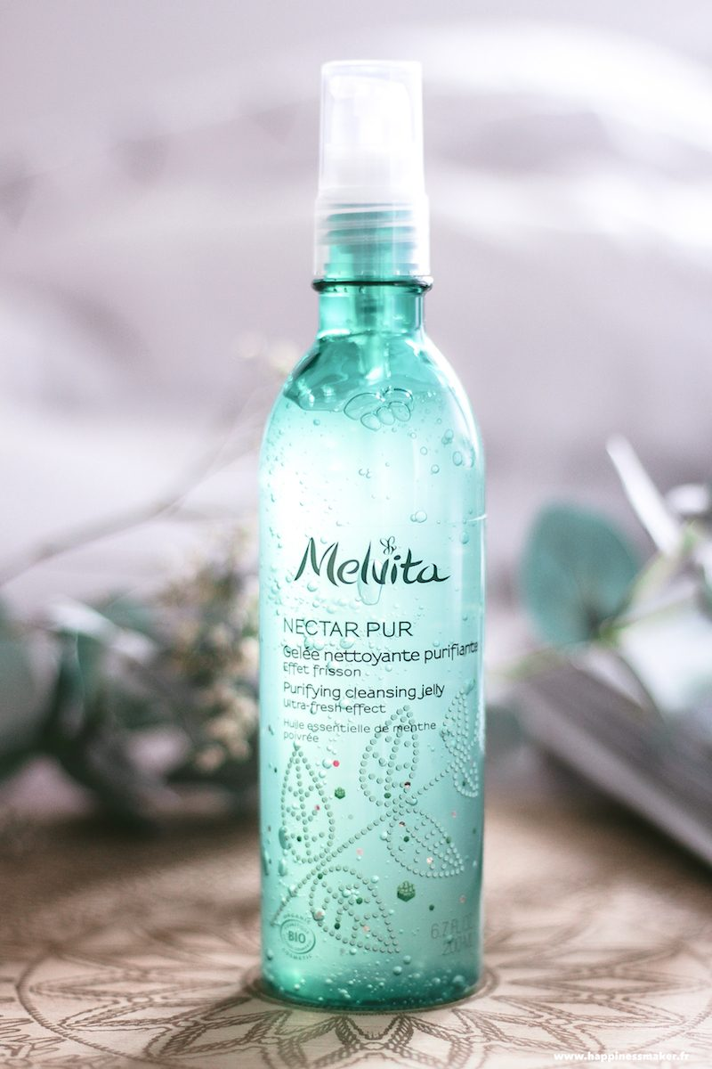 melvita nectar pur gelée nettoyante purifiante