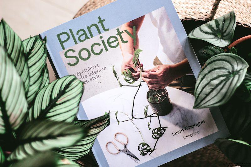 plant society livre sur les plantes vertes