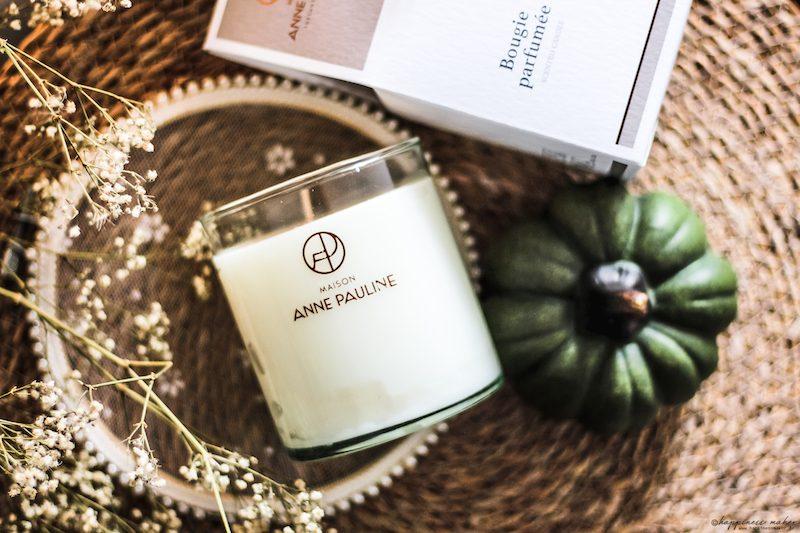 maison anne pauline bougie parfumée douceur d'automne avis