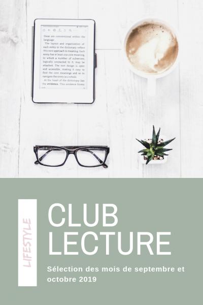 Club lecture septembre développement personnel nouveautés : Marchez, mon carnet nature, Lucie Goodfellow et Le bonheur est une science exacte de Jean Doridot