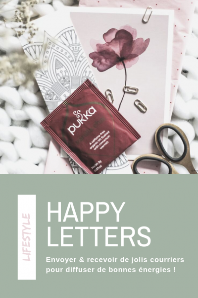 happy letters correspondance