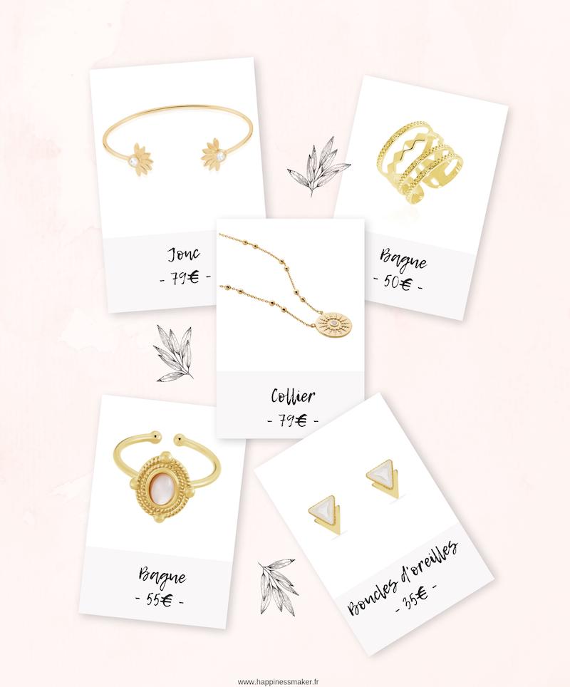 sélection bijoux smizze