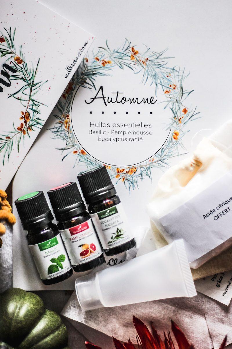 box automne millescence avis