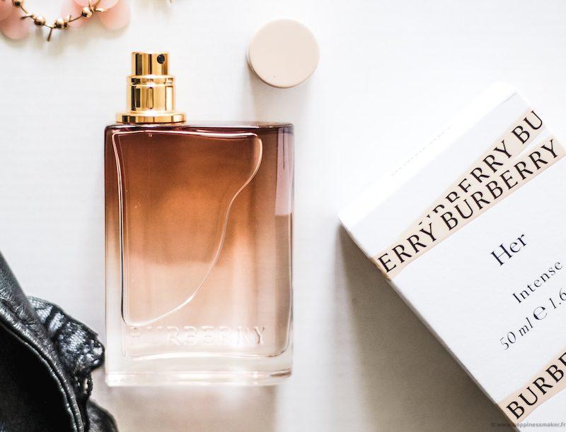 avis parfum her intense burberry