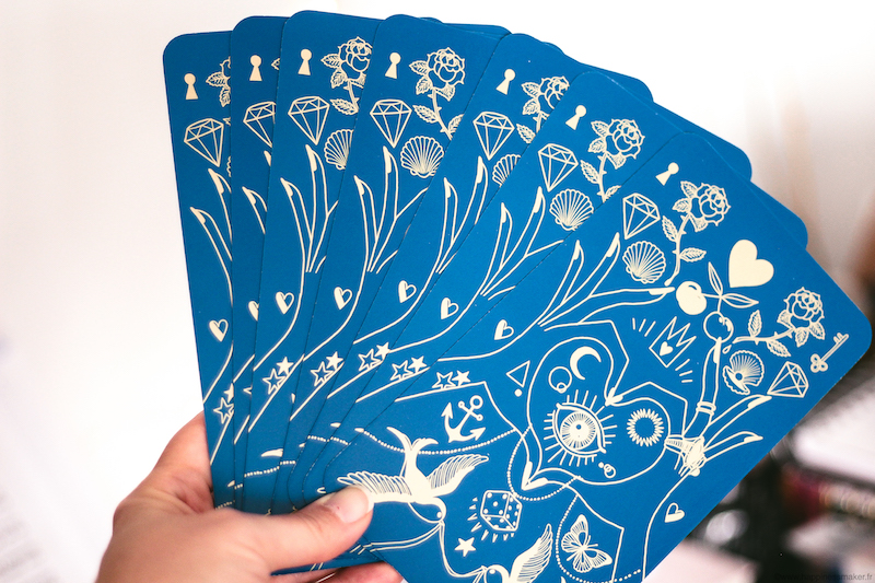 mon oracle lulumineuse margaux motin dos es cartes
