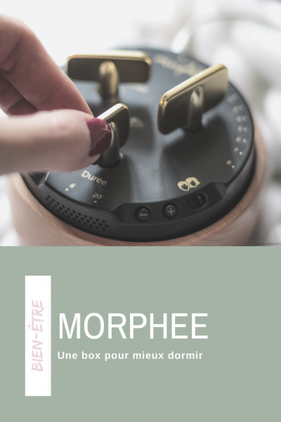 morphée box bien-être meditation avoir un meilleur sommeil mieux dormir et plus vite
